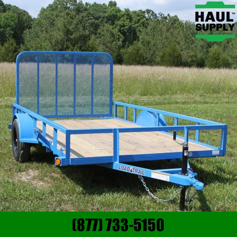 Load Trail 77X12 Utility Trailer 4ft Fold-in Gate Tr