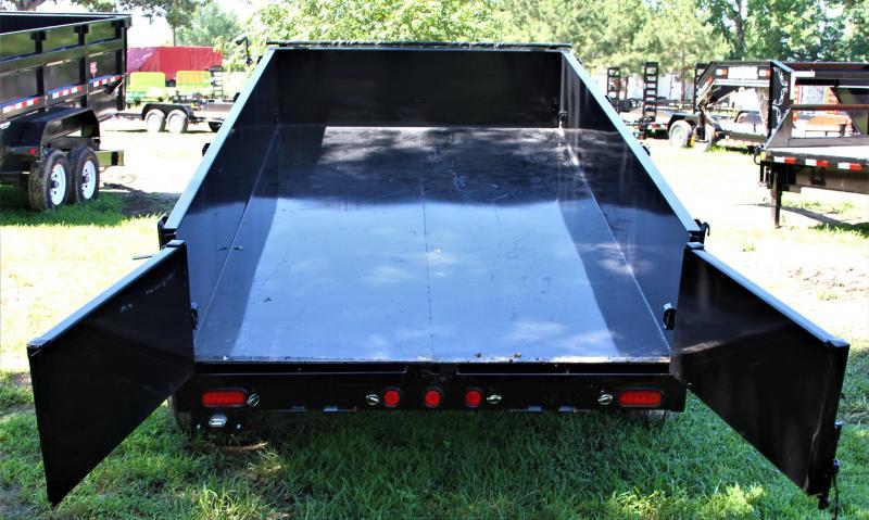 PJ Trailers 83X12 14K Low Pro Dump Ramps / Tarp