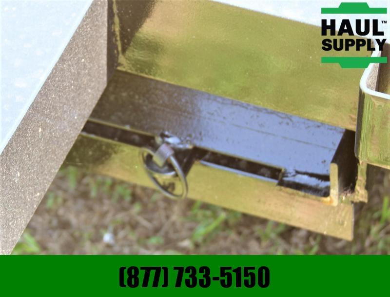 Stingray LLC 82X18 7K OPEN CAR HAULER DOVETAIL RAMPS L