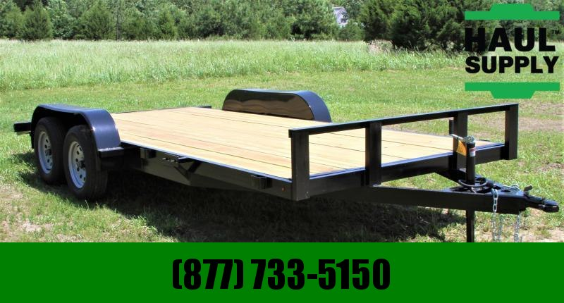 Stingray LLC 82X18 7K OPEN CAR HAULER DOVETAIL RAMPS L