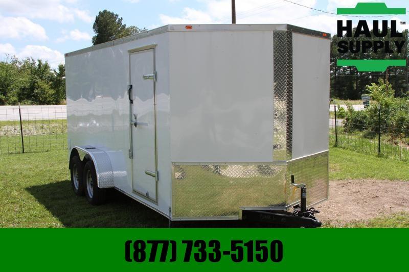 Traveler Cargo 7X16TA 7K V-nose Enclosed Cargo Trailer R