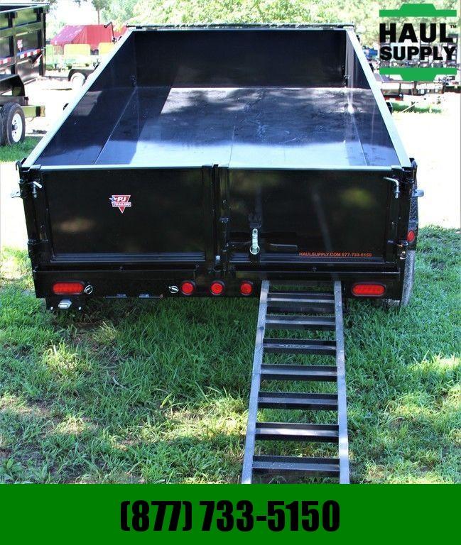 PJ Trailers 72X10 10K DUMP TRAILER TARP RAMPS 10GA ST