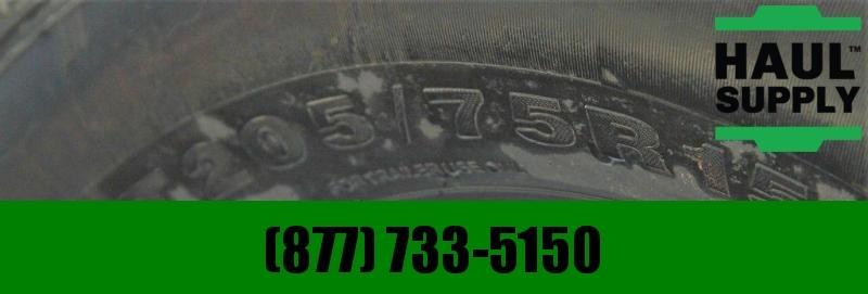 PJ Trailers 77X16 DUAL AXLE UTILITY GATE BRAKES RADIA