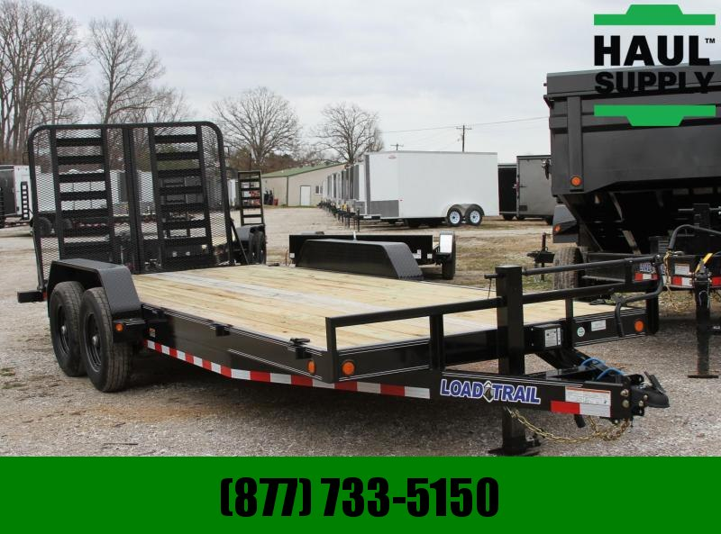 Load Trail 83X20 14K Equipment Trailer 6in Channel F