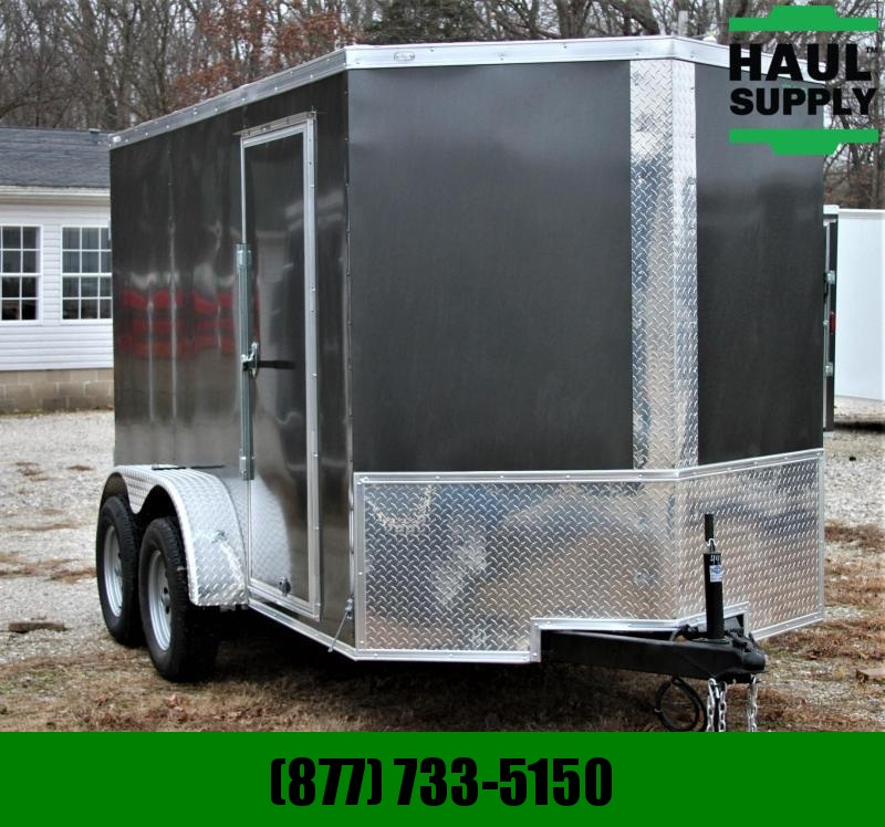 "Traveler Cargo 6X12TA CARGO TRAILER/DOUBLE DOORS/16""CENT"