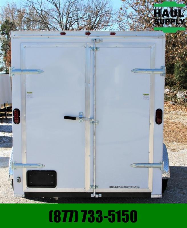 Traveler Cargo 6X12SA V-nose Enclosed Cargo Trailer DRD