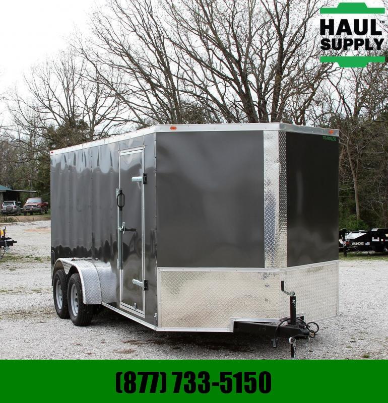 Traveler Cargo 7X16TA 7K V-nose Enclosed Cargo Trailer