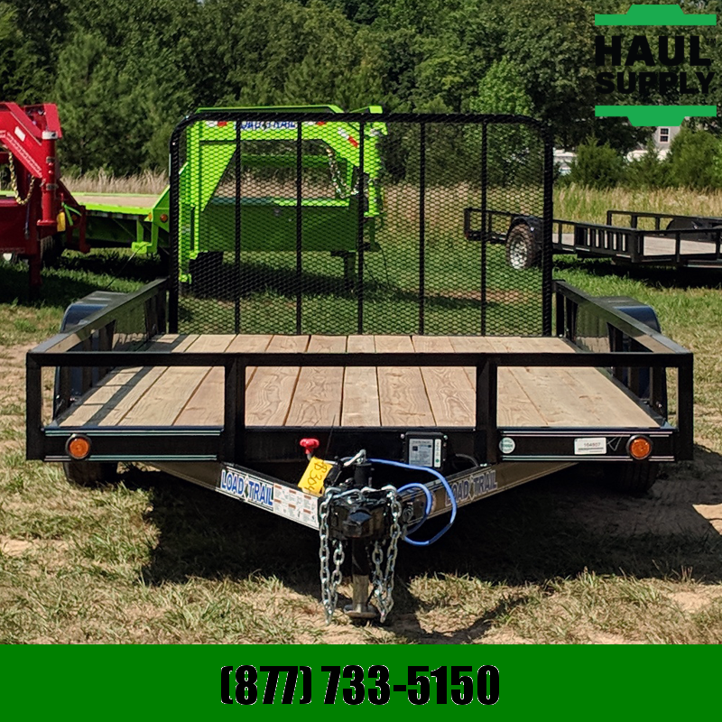 2020 Load Trail 83X16 PIPETOP 4FT GATE LEDS +MORE