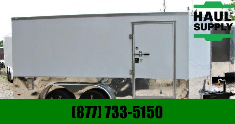 Covered Wagon Trailers 7X14 MOTOPACK REAR JACKS D-RINGS +MORE
