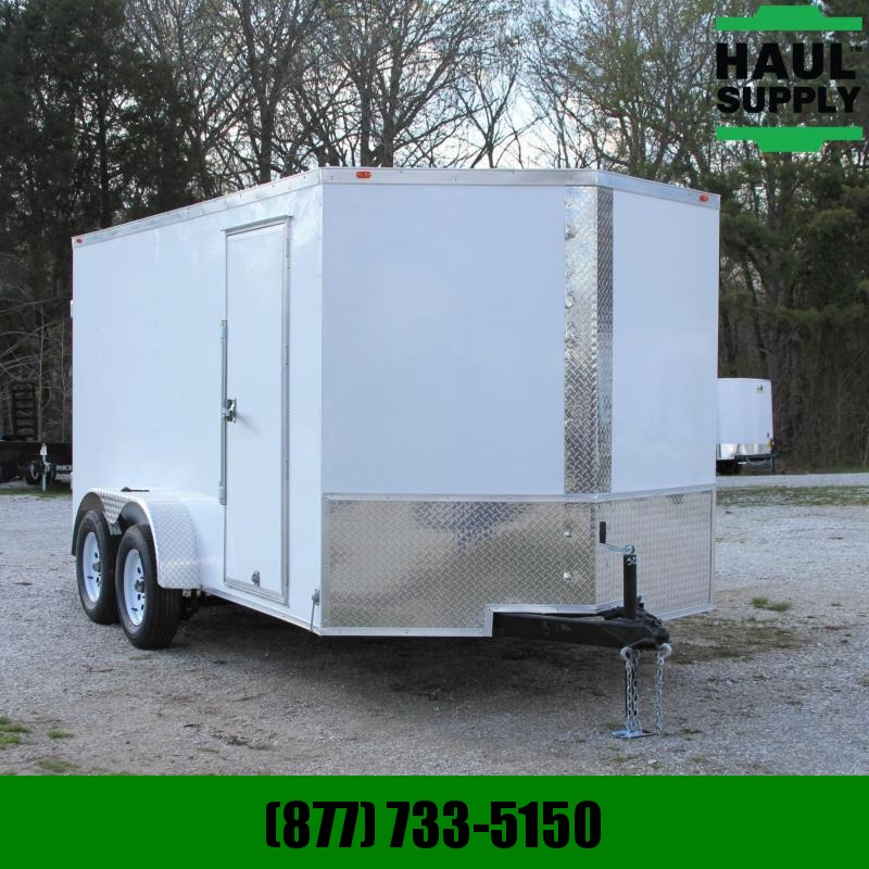 Traveler Cargo 7X14  V-NOSE CARGO TRAILER 7'TALL RADIALS
