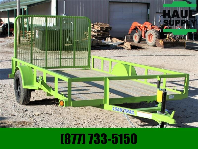 Load Trail 77X12 Utility Trailer 4' Ramp Radials LED