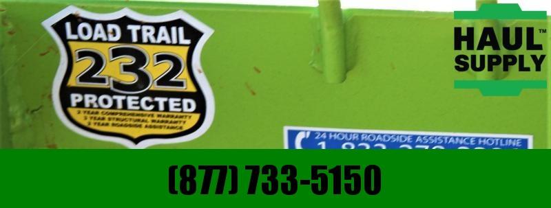 Load Trail 77X12 Utility Trailer 4' Ramp Radials LED