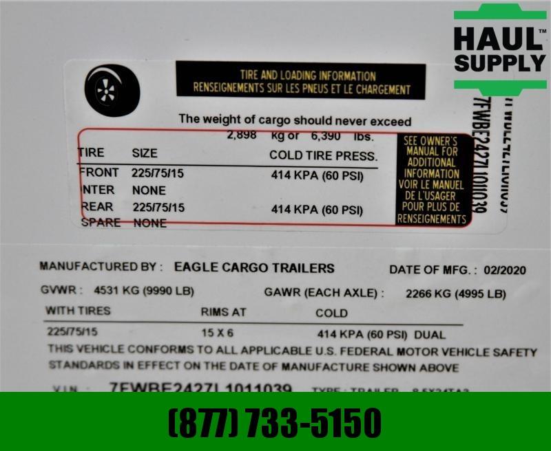 Traveler Cargo 8.5X24 10K Car Hauler XXT  LEDs + MORE