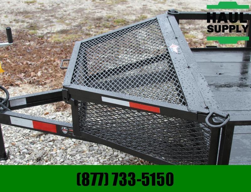 Stingray LLC 60X10SA UTILITY TRAILER NO GATE/ BASKET O