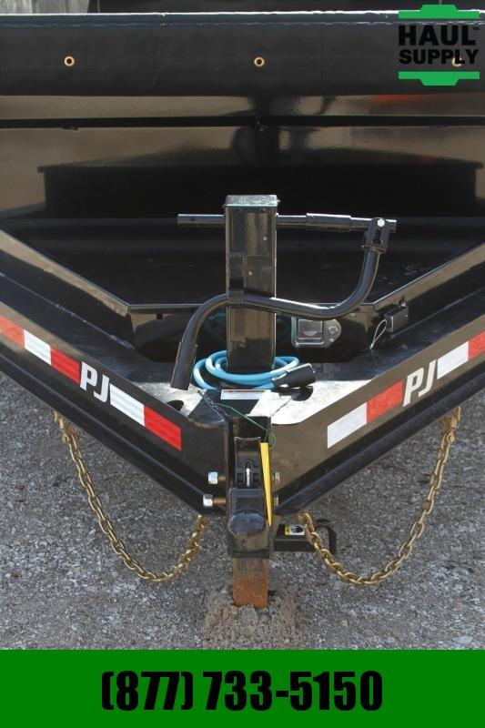 "PJ Trailers 83X14 14K  LPD HD 10g 24"" Steel Sides"