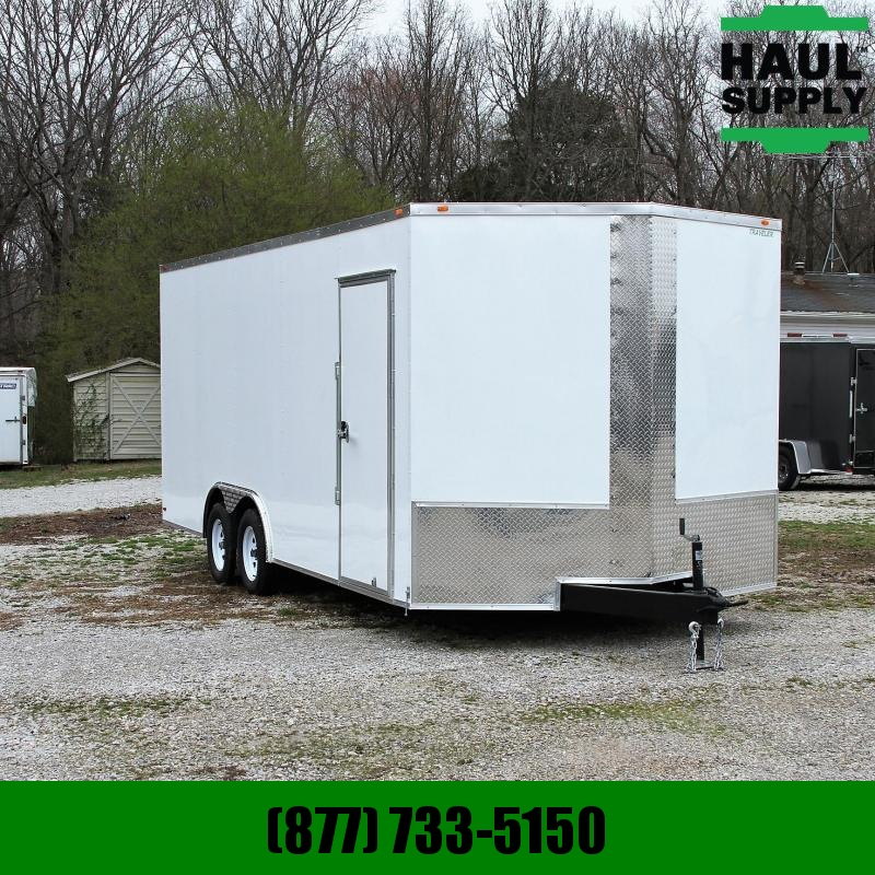 Traveler Cargo 8.5X20TA 7K Enclosed Car Hauler RR 7'tall