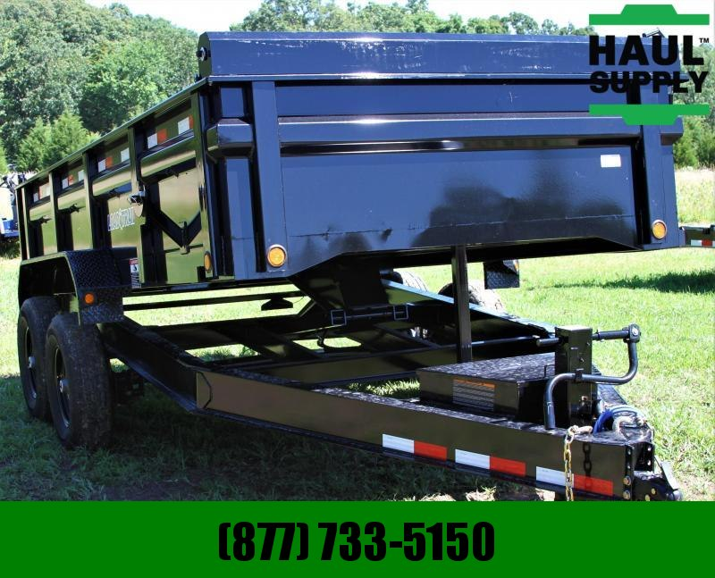 "Load Trail 83X14 14K DUMP 8"" IBEAM FRAME TARP RAMPS"