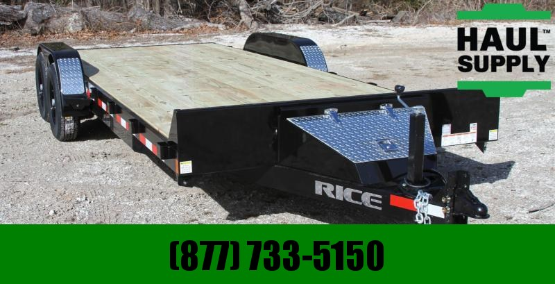 "Rice 82X20 14K EQUIPMENT TRAILER 6""CHANNEL FRA"