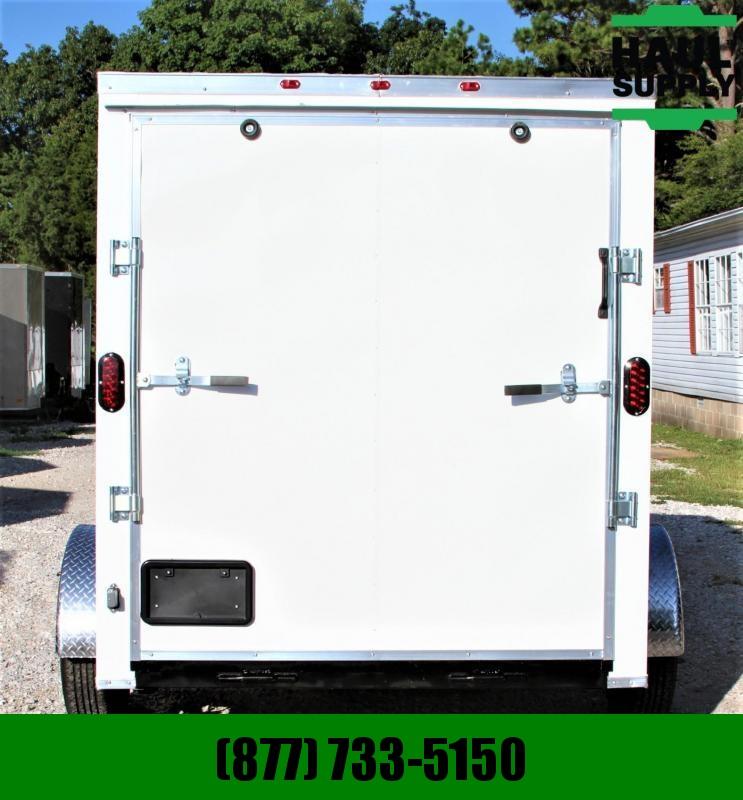 Traveler Cargo 6X10SA V-nose Enclosed Cargo Trailer RR L