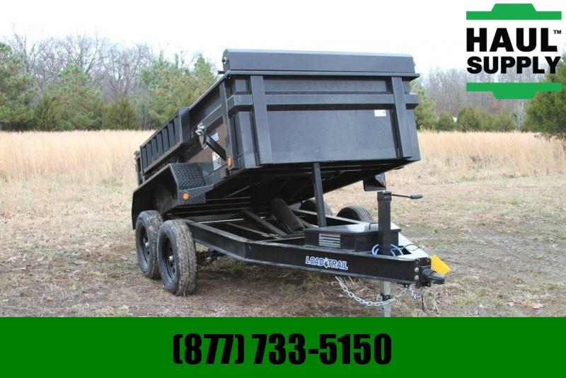 2020 Load Trail 60X10 7K DUMP RAMPS TARP 10GA BED