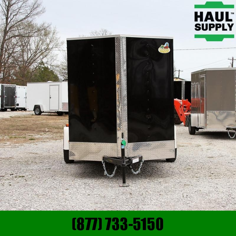 Covered Wagon Trailers 6X12SA V-Nose Enclosed Cargo Trailer RR X