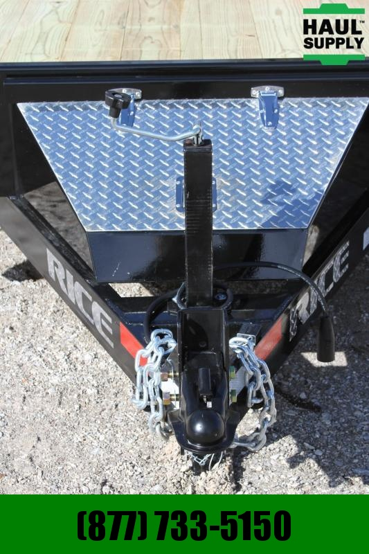 "Rice 82X20 14K Equipment Trailer 3""Channel Cro"