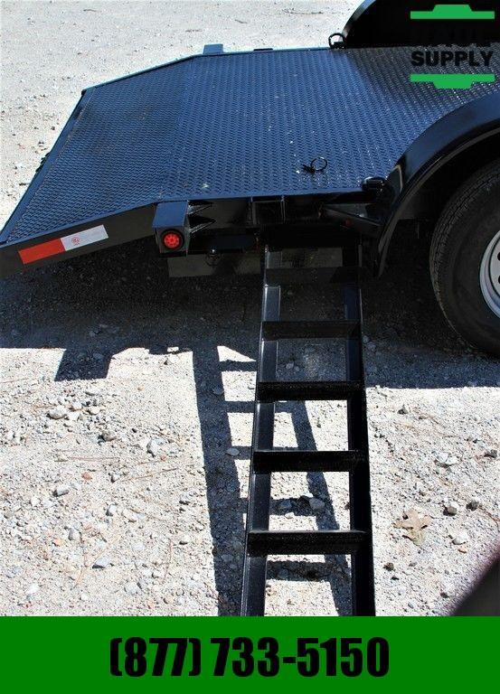 """Stingray LLC 82X18 OPEN CAR HAULER 4"""" CHANNEL FRAME ST"""