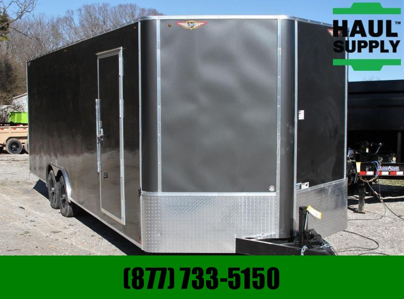 H & H Trailer 8.5X24 10K ENCLOSED CAR HAULER 7'TALL TOR