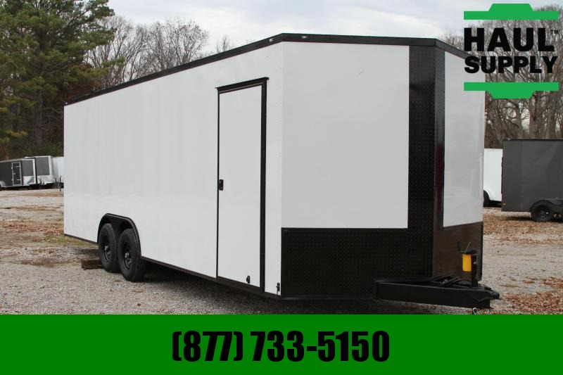 Traveler Cargo 8.5X24 10K ENCLOSED CAR HAULER 7'TALL LED