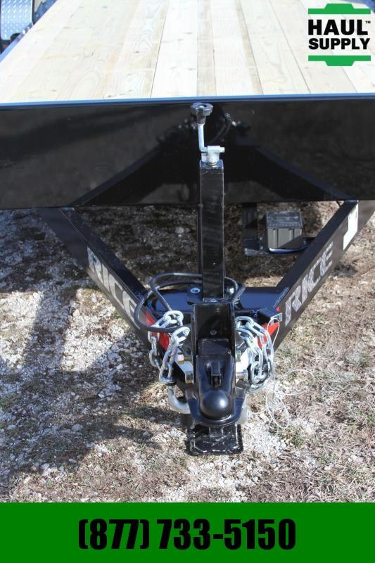 Rice RICE 82X18 7K OPEN CAR HAULER STEEL DOVE