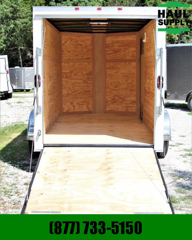 Traveler Cargo 6X12 CARGO TRAILER REAR RAMP LEDS
