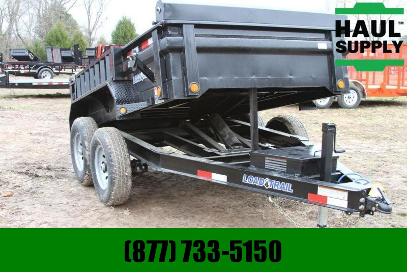 2020 Load Trail 72X10 10K Dump Scissor Lift Ramps Tarp
