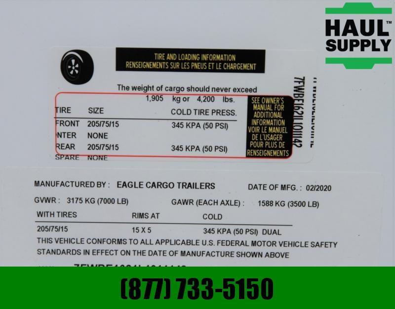 "Traveler Cargo 8.5X16 V-NOSE CARGO TRAILER 84""TALL 16"