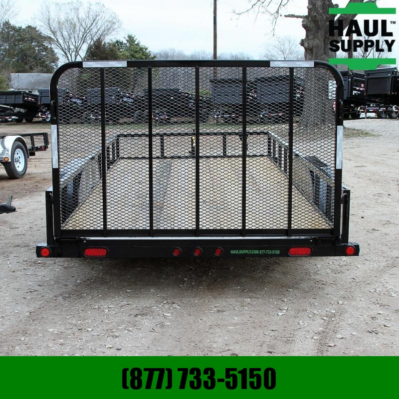 "Load Trail 83X18 TA 7K Utility w/treated lumber 24""c"