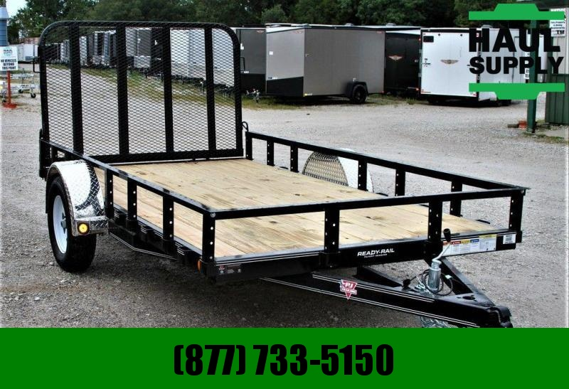 "PJ Trailers NEW! 77X12 PJ UTILITY TRAILER 4""CHANNEL F"