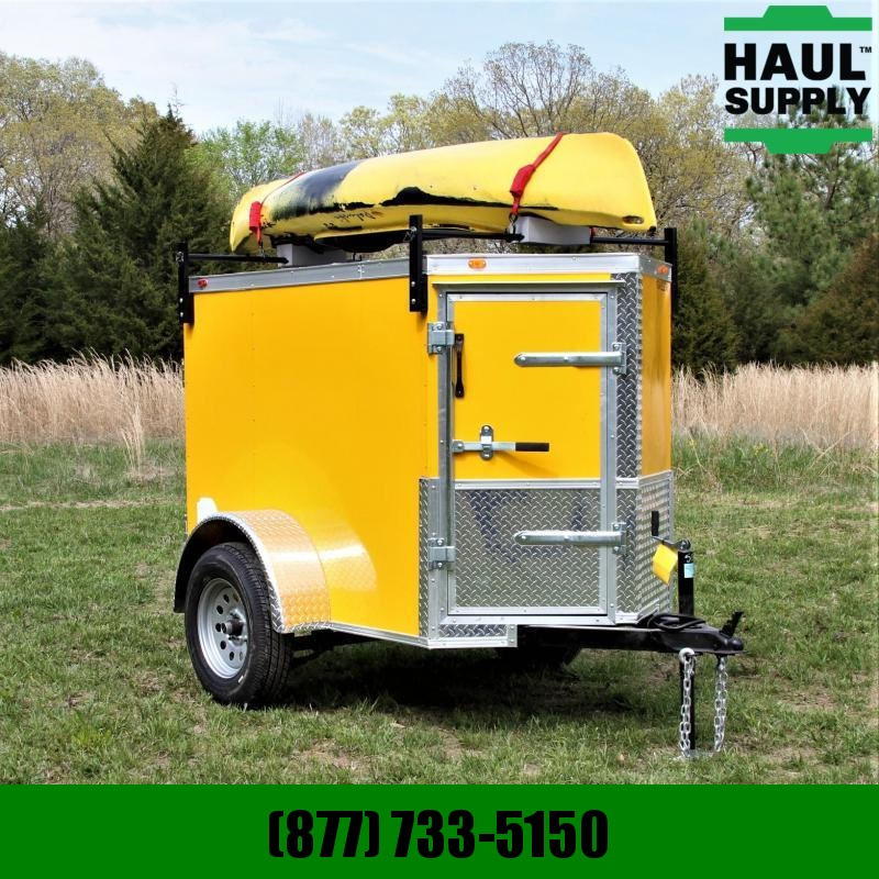 Traveler Cargo 4X6 V-NOSE SIDE DOOR KAYAK INCLUDED CASH
