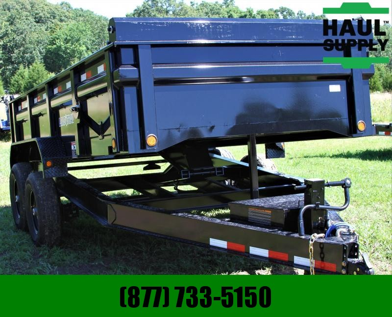 "Load Trail 14K Dump 8"" Ibeam Frame Tarp Ramps 3way G"
