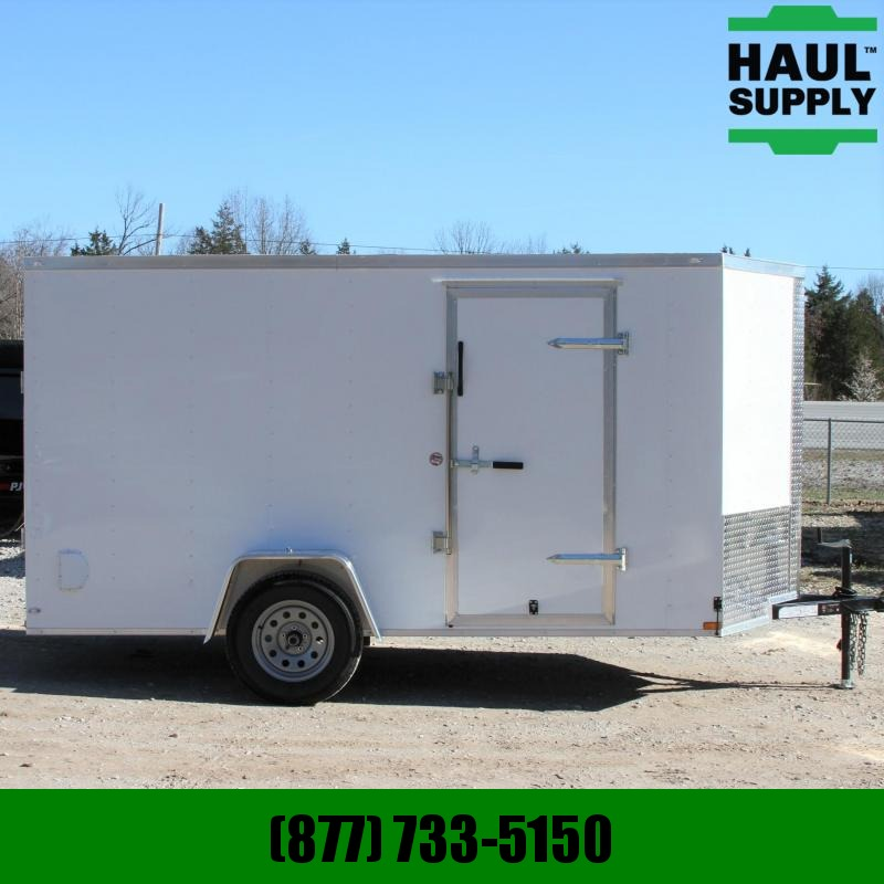 Lark 6X12SA V-NOSE ENCLOSED CARGO TRAILER RR J