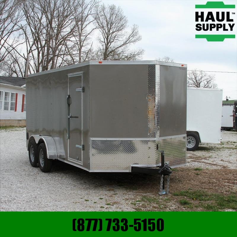 Traveler Cargo 7X16TA 7K V-nose Enclosed Cargo Trailer