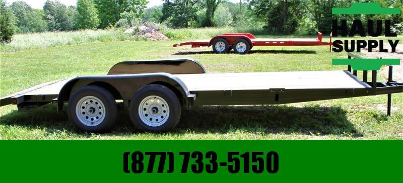 Stingray LLC 82X18 7K OPEN CAR HAULER DOVETAIL LEDS RA