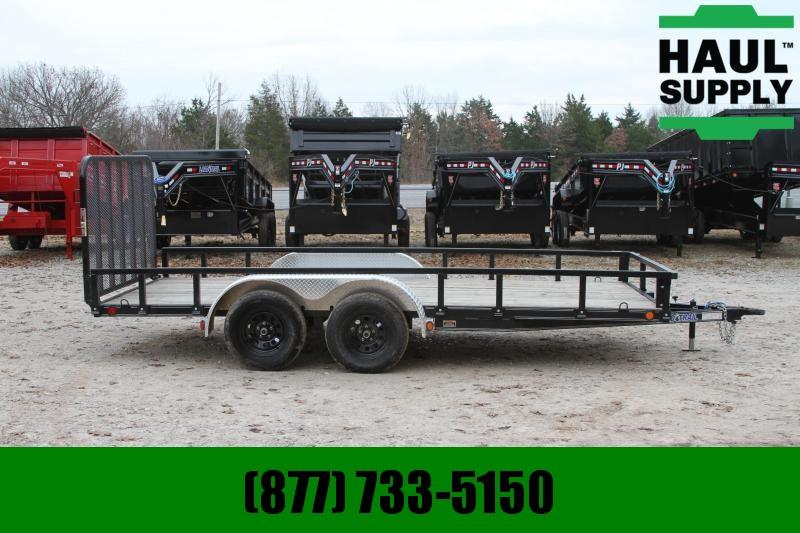 Load Trail 83X16TA 7K Utility Trailer 1 Elec Brake R