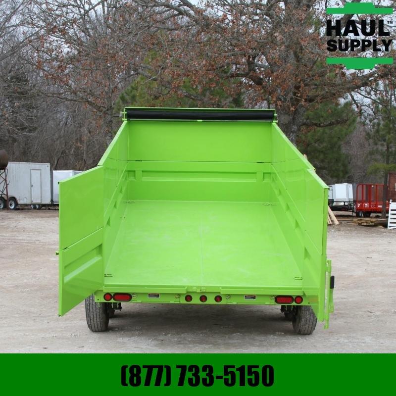 """Load Trail 83X14 14K Dump Trailer 8""""I-beam Frame Ram"""