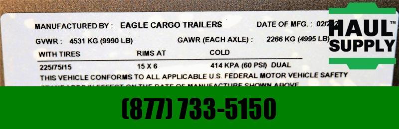 Traveler Cargo 8.5X20 10K Car Hauler  XT Blackout Pkg+ M