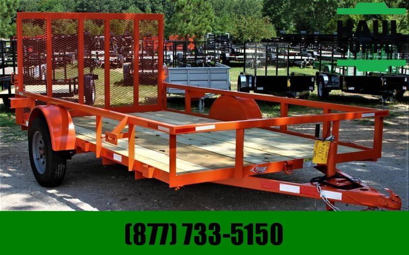 Stingray LLC 76X12 SINGLE AXEL UTILITY W/GATE DEXTERS