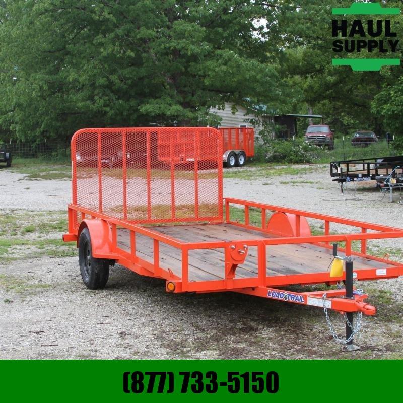 Load Trail 83X14 UTILITY TRAILER TUBE GATE RADIALS L