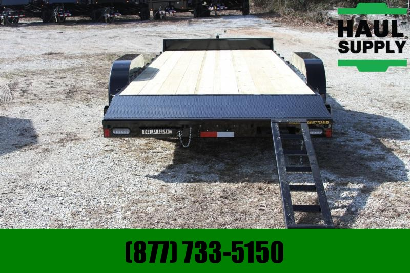 Rice RICE 82X18 7K OPEN CAR HAULER STEEL DOVE