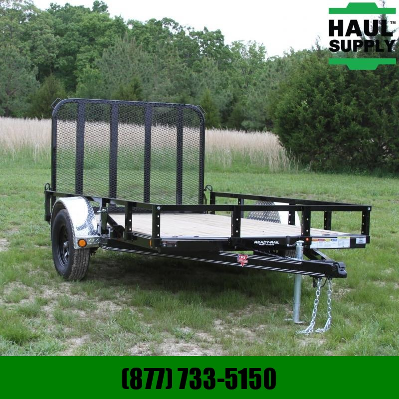 PJ Trailers 77X10 CHANNEL UTILITY TRAILER WITH FOLD I