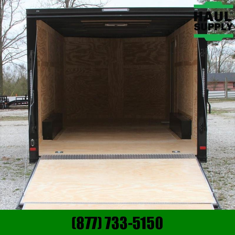 Covered Wagon Trailers 8.5X20 V-nose Enclosed 10K Car Hauler RR