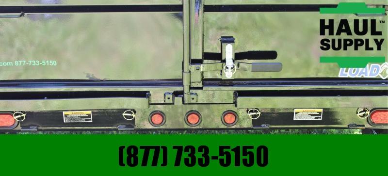 "Load Trail 14K Dump 8"" Ibeam Frame Tarp Ramps 3way G"