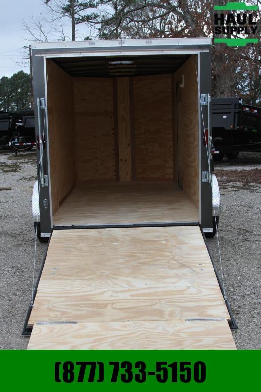 Traveler Cargo 6X12SA V-nose Enclosed Cargo Trailer RR L